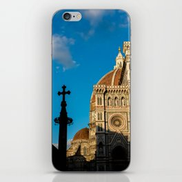 Shadows in Florence iPhone Skin