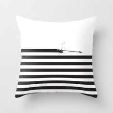 Distracted Throw Pillow