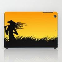 samurai iPad Cases featuring samurai by naughty ogre