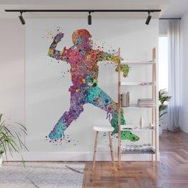 Baseball Softball Catcher 3 Art Sports Poster Wall Mural