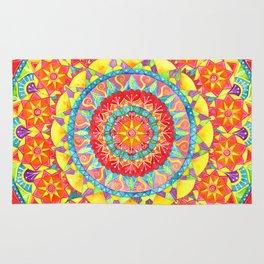 Sun Mandala Rug