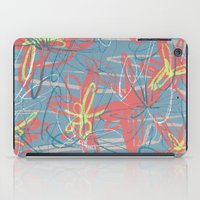 patrick iPad Cases featuring Patrick by hoopderscotch