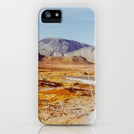 Road Tripping in Scandinavia - Jotunheimen NP on Sunny Fall Day iPhone Case