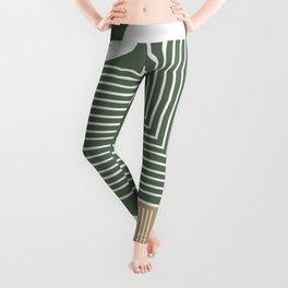 Stylish Geometric Abstract Leggings