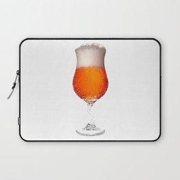 Elegant Beer Glass Laptop Sleeve