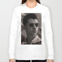 alex turner Long Sleeve T-shirts featuring Alex Turner by Tune In Apparel