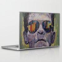 frankenstein Laptop & iPad Skins featuring Frankenstein by Michael Creese