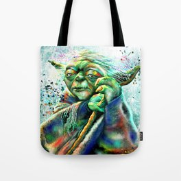 Yoda Painting Tote Bag