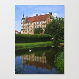 castle of Güstrow 3 Canvas Print