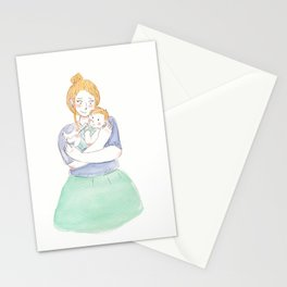Mommy & Me Stationery Cards