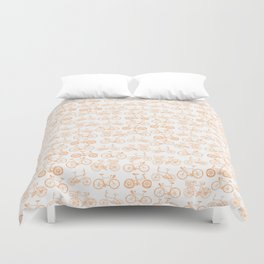 Bicycle Pattern Duvet Cover