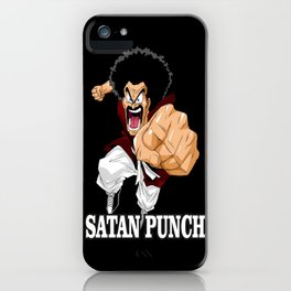 Mr. Satan iPhone Case