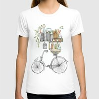 bicycle T-shirts featuring Pleasant Balance by florever