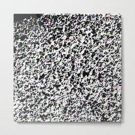 Smashed glass Metal Print