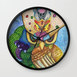 Wired Thoughts Wall Clock