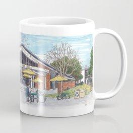 freeborn hall panorama Coffee Mug