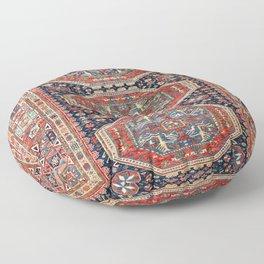 Kuba Sumakh Antique East Caucasus Rug Print Floor Pillow