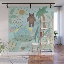 Funny Animals Wall Mural