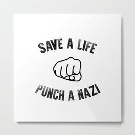 Save a Life Metal Print