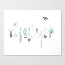 Posse Canvas Print