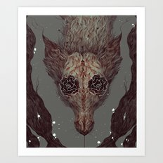 Garden of Curiosities  Art Print