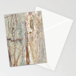 Brown onyx home decor marble texture photo print Stationery Cards