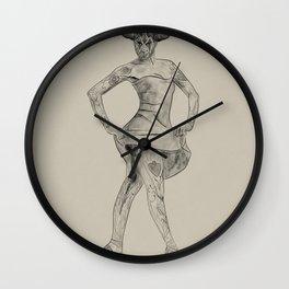 Contorted Sunshine - 708. Wall Clock