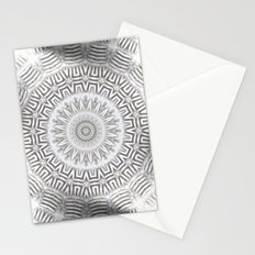 METAL Element Kaleido Pattern Stationery Cards