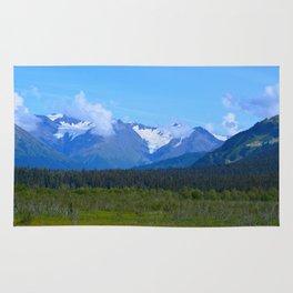 Mountain Glacier Rug