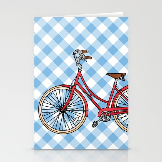 His Bicycle Stationery Cards