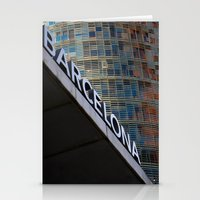 barcelona Stationery Cards featuring Barcelona by Nicolò Michetti