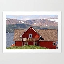 Postcard from Newfoundland Art Print