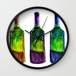 More wine Wall Clock