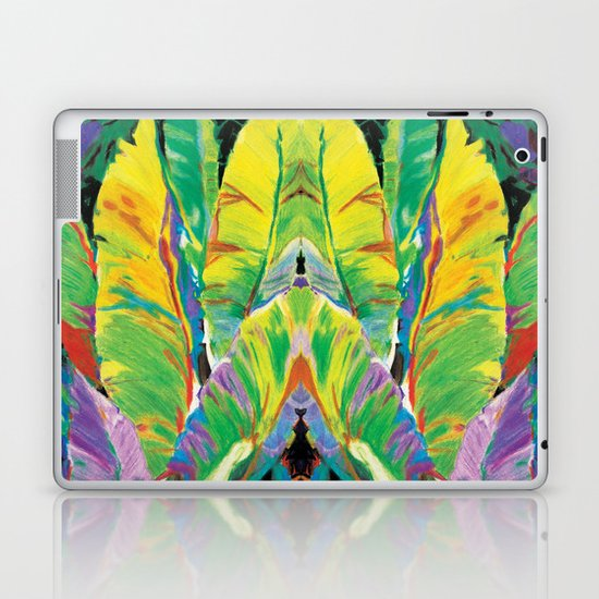 Exotic Leaves Laptop & iPad Skin