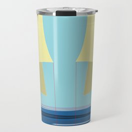 Soaring the Airs with May on a Relaxed Sunday - shoes stories Travel Mug