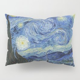 The Starry Night by Vincent van Gogh Pillow Sham