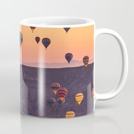 Colourfull Hot Air Ballons landsxaping from Cappadocia Coffee Mug