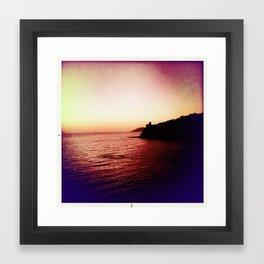 Italy sea Framed Art Print