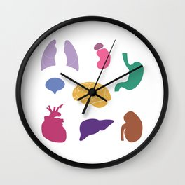 Internal Organs  Wall Clock