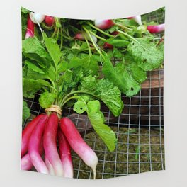 Radishes Wall Tapestry