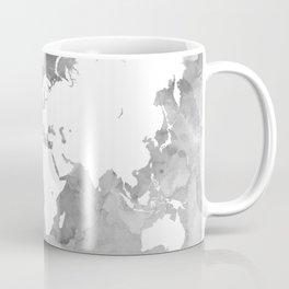 Design 49 Grayscale World Map Coffee Mug