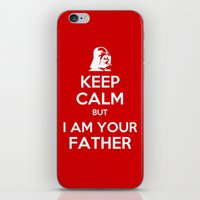 keep calm iPhone & iPod Skins featuring Keep Calm by ubertwigg