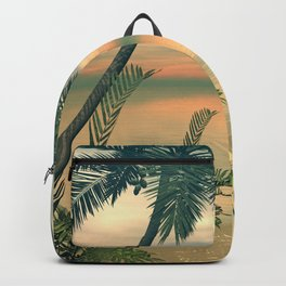 View of the sea Backpack
