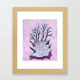 Last bit of Earth Framed Art Print