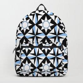 symetric patterns 51 -mandala,geometric,rosace,harmony,star,symmetry Backpack