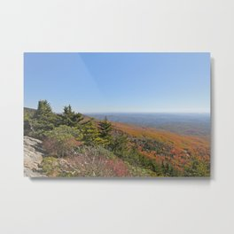 Autumn in the Mountains, Horizontal Metal Print