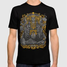 IBERIAN HECATE gray Mens Fitted Tee 2X-LARGE Black