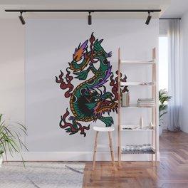 Dragon Tattoo Flash Wall Mural