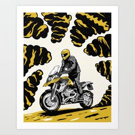 BMW 1200 GS Art Print