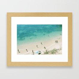 a summer daydream Framed Art Print